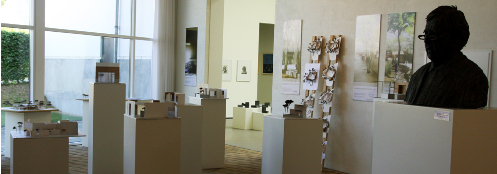 Architecture and art exhibition