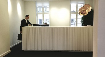 Law firm reception design