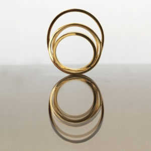 Signature ring, gold