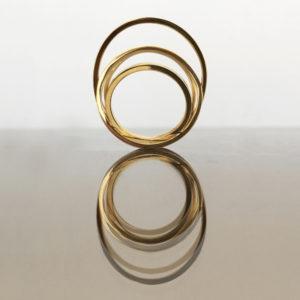 Signature ring, gold